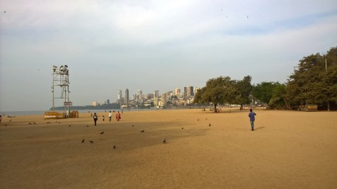 Running in Mumbai