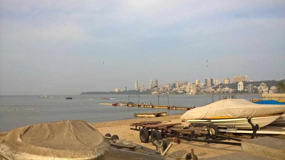 Running in Mumbai