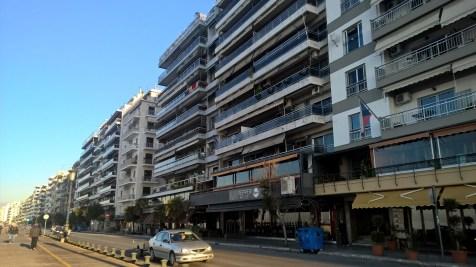 Running in Thessaloniki