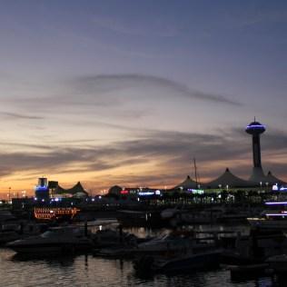 Bay Sunset Abu Dhabi