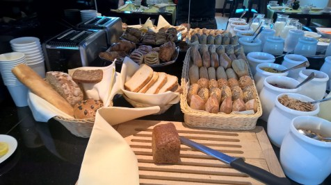 InterContinental Warsaw Executive Lounge Breakfast