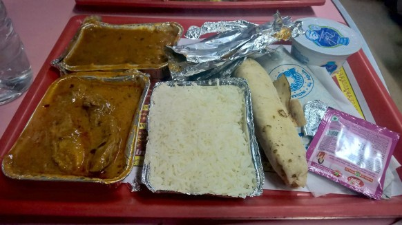 Shatabdi Express First Class Catering
