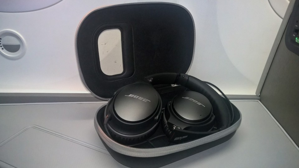 American Airlines Business Class Headphones