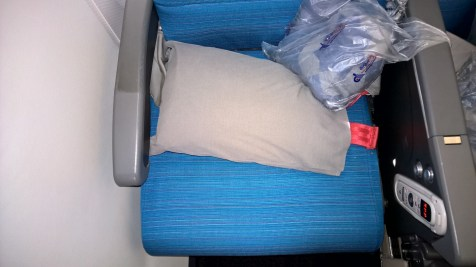 Turkish Airlines Economy Class Seat
