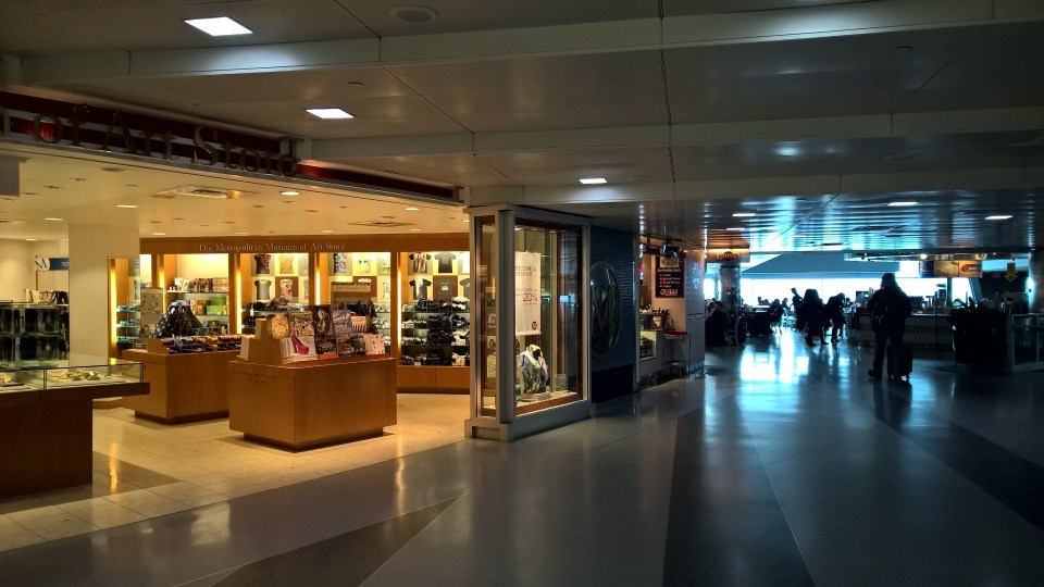 There are many shops in all terminals of the New York JFK Airport