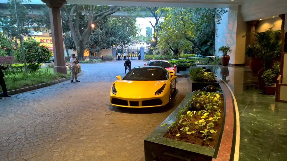 The Oberoi Bengaluru Entrance