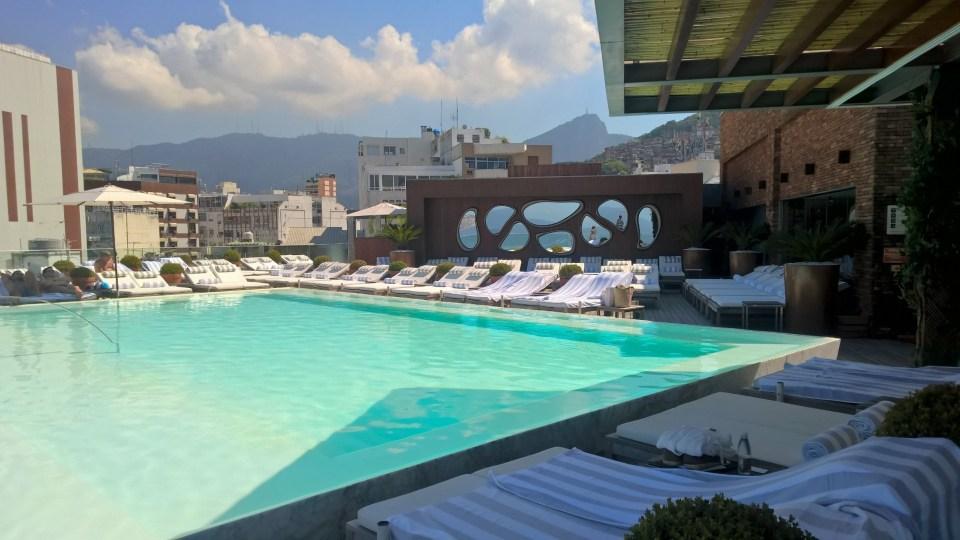 Pool Hotel Fasano Rio de Janeiro