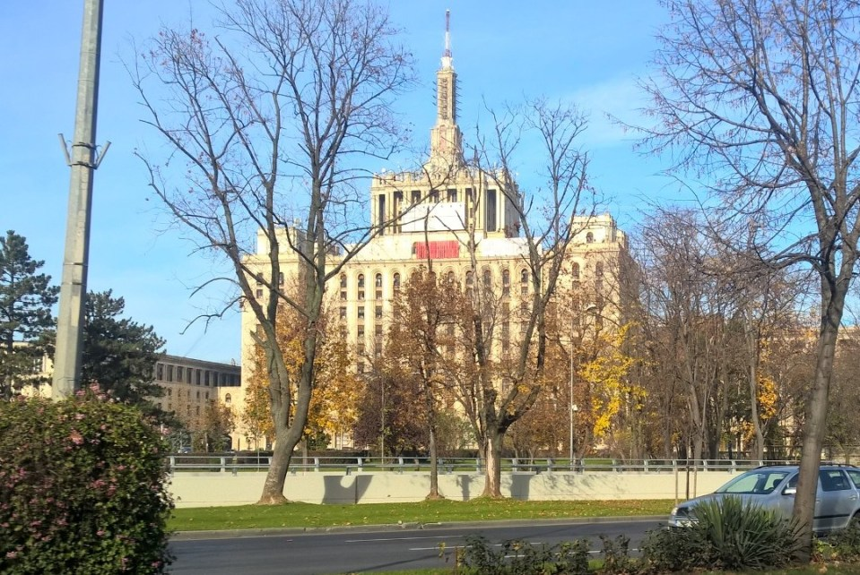 Bucharest Palace of Culture and Science