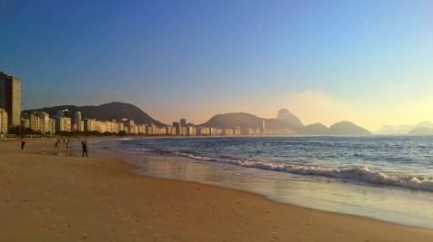 Running in Rio de Janeiro