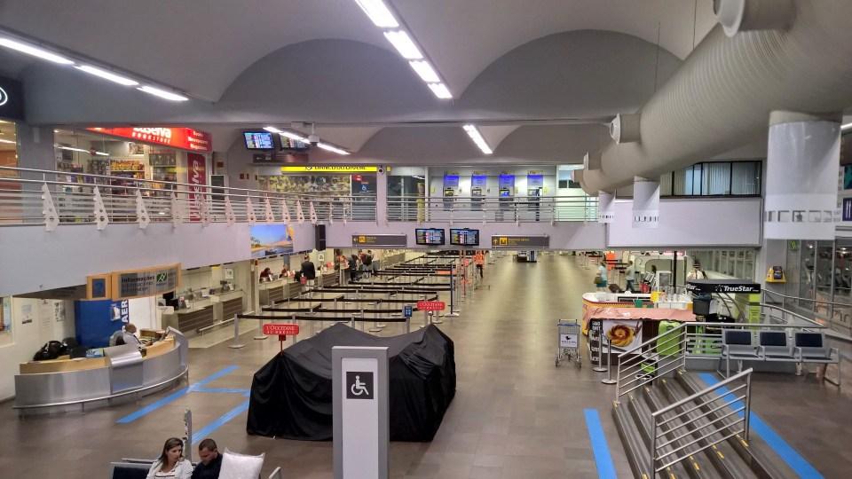 Hercílio Luz Airport Florianopolis