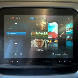 American Airlines regional First Class Entertainment