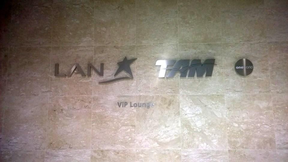 LATAM Lounge Sao Paulo Entrane