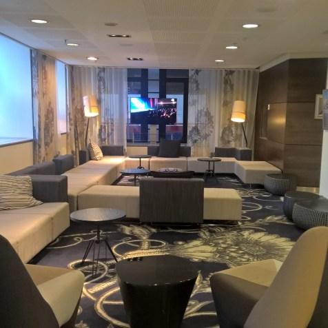 Hilton Brussels City Lobby
