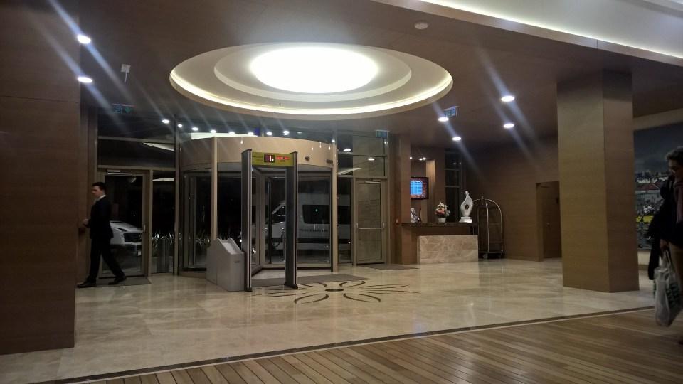 Hotel Gorrion Istanbul Lobby