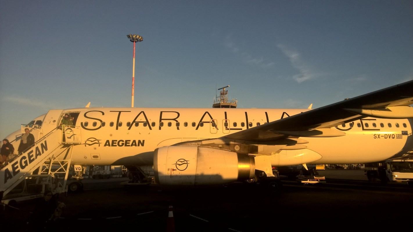 Aegean Airlines domestic Economy