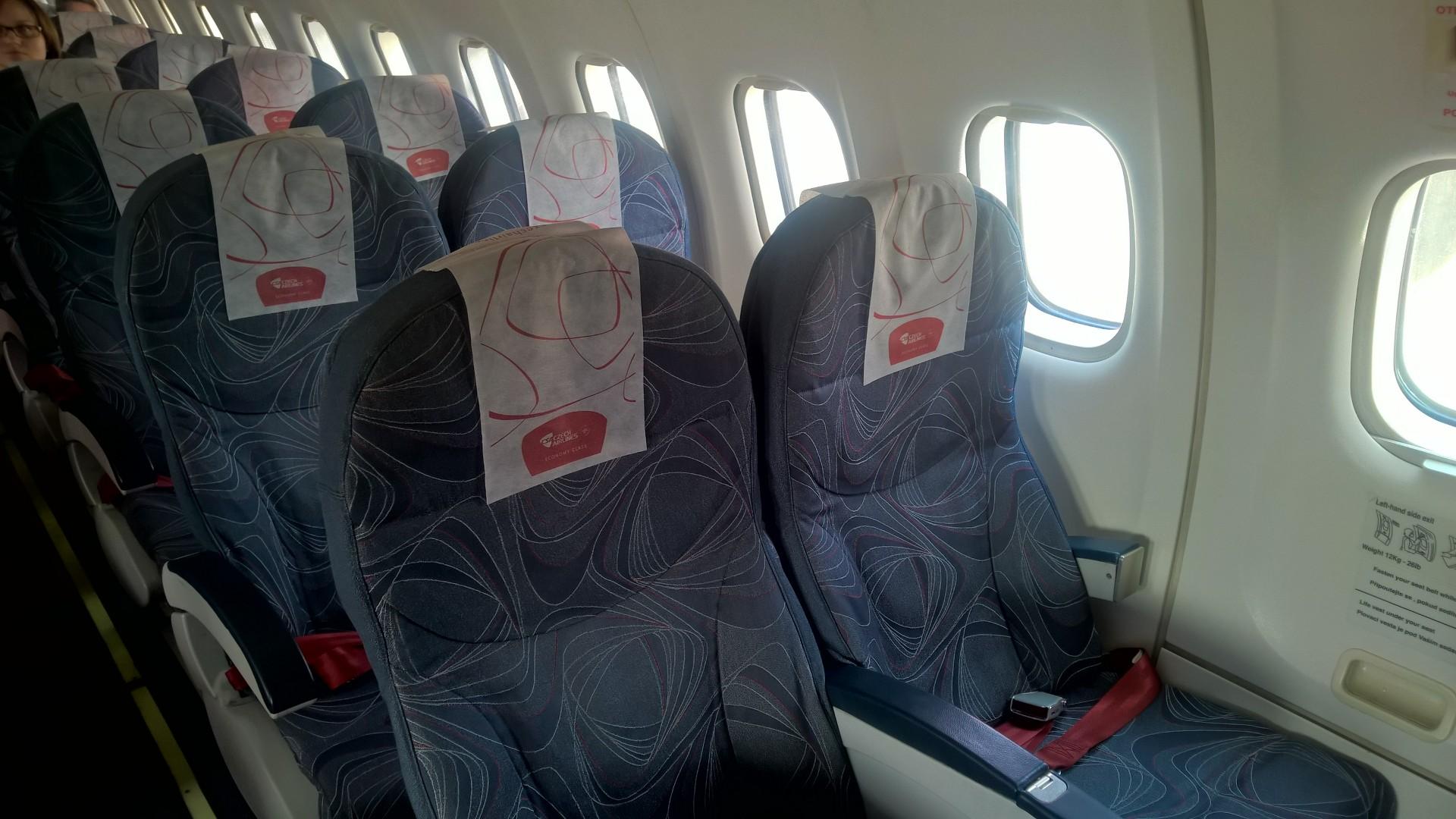 Czech Airlines ATR 42 Seat