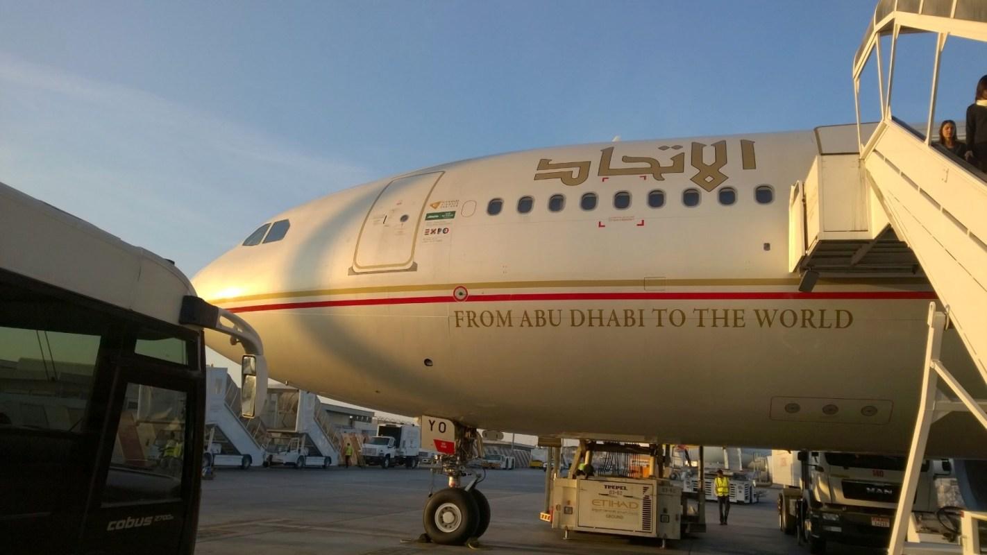 Etihad Airways Airbus A340-600