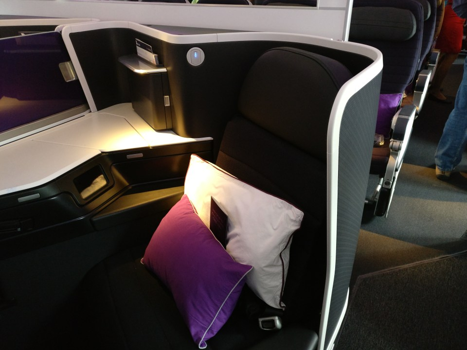 Virgin Australia Boeing 777 Business Class