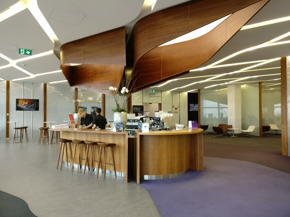 Virgin Australia Lounge Melbourne