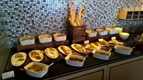 JW Marriott Mussoorie Breakfast