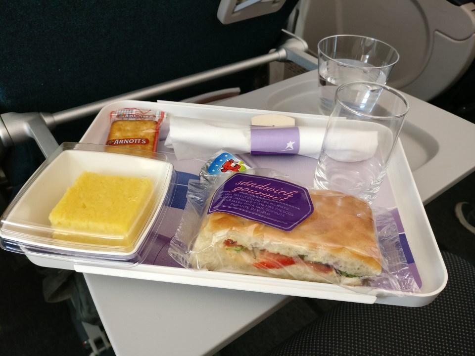 LATAM Boeing 787 Economy Class Snack