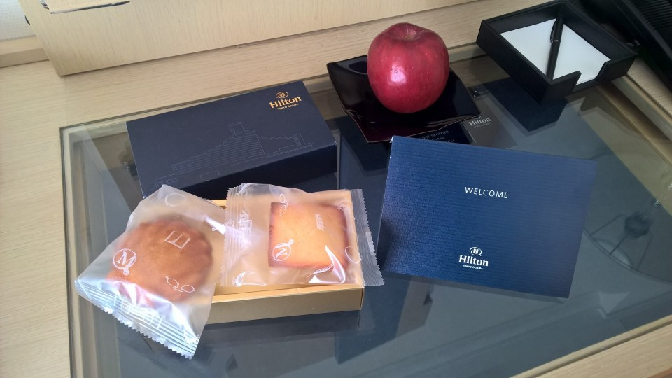 Hilton Tokyo Odaiba Executive Room