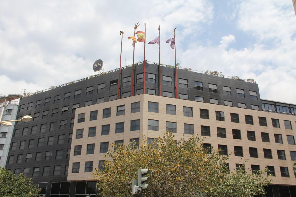 SH Valencia Palace Exterior