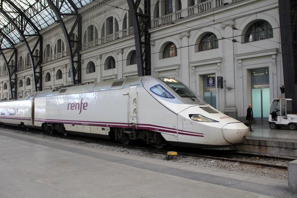 Train Barcelona