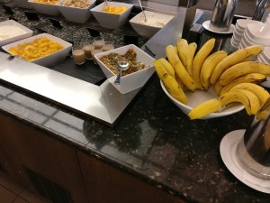 Air New Zealand Domestic Lounge Wellington Buffet