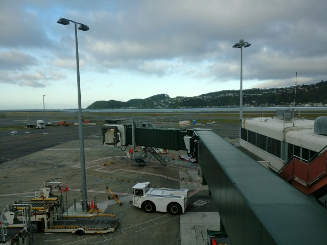 Air New Zealand Domestic Lounge Wellington View