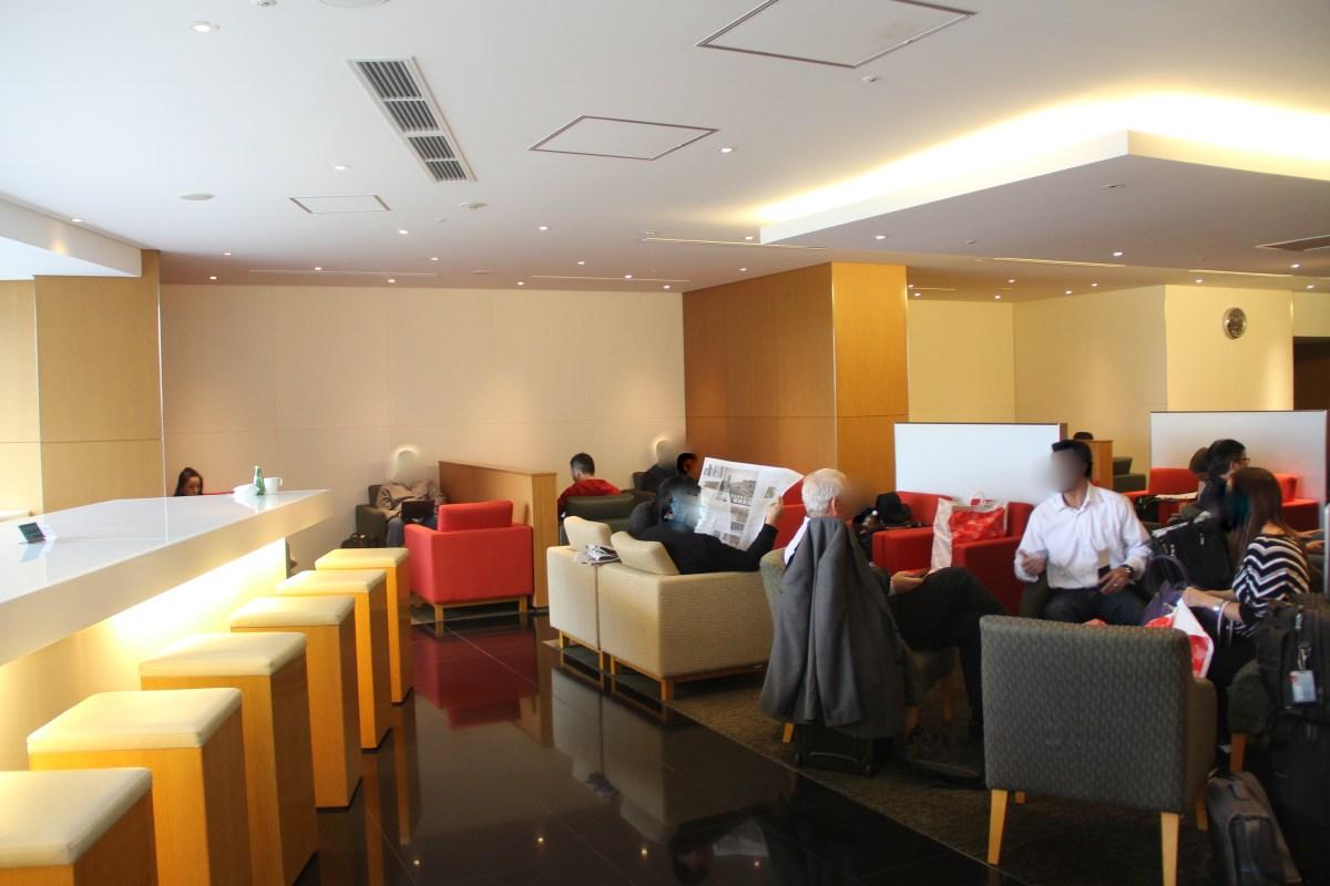 Cathay Pacific Lounge Tokyo Narita Seating