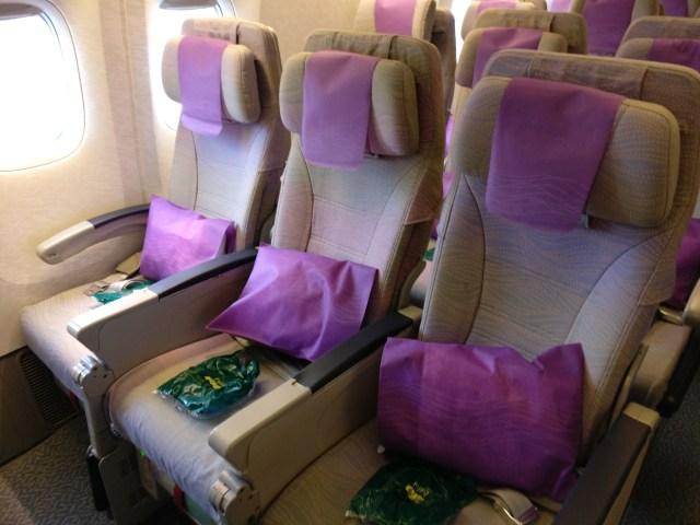 Emirates Boeing 777 Economy Class