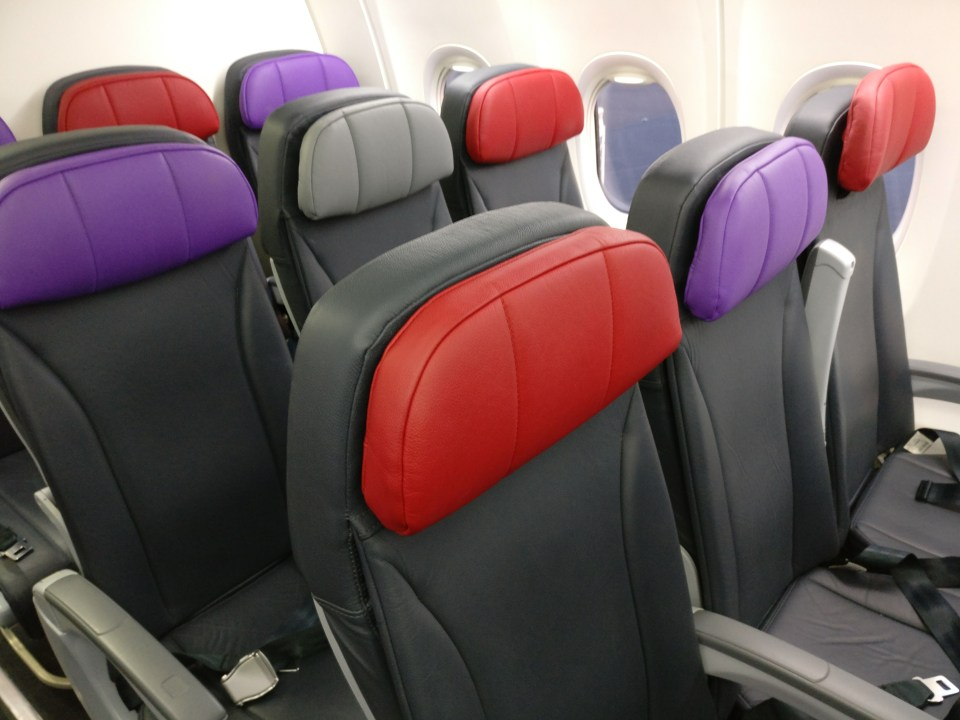 Virgin Australia domestic Economy Class