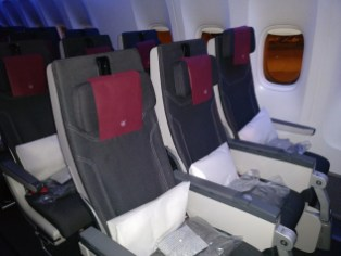 Qatar Airways Economy Class Boeing 777 Seating