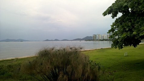 Running in Florianopolis
