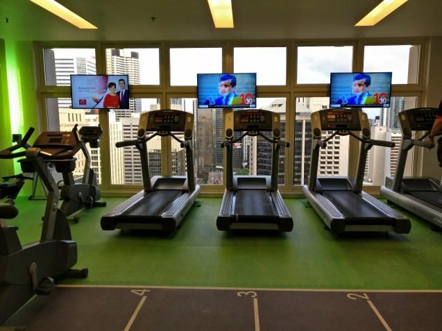 Sofitel Brisbane Gym