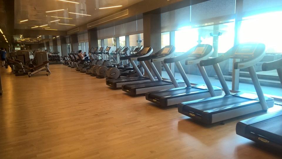 Conrad Dubai Gym