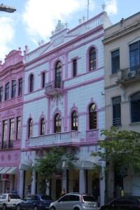 Florianoplis Pink Building