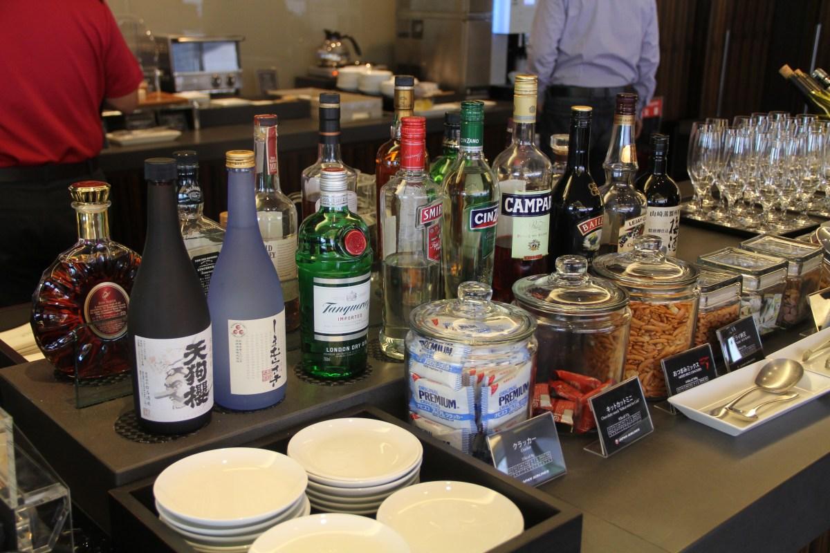 JAL First Class Lounge Tokyo Narita Buffet