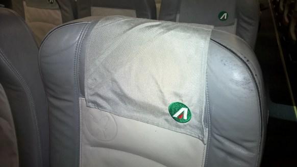 Alitalia domestic Economy Seat
