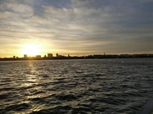 Running in Hamburg