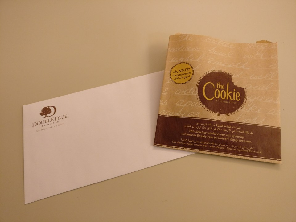 DoubleTree Doha Old Town Cookie