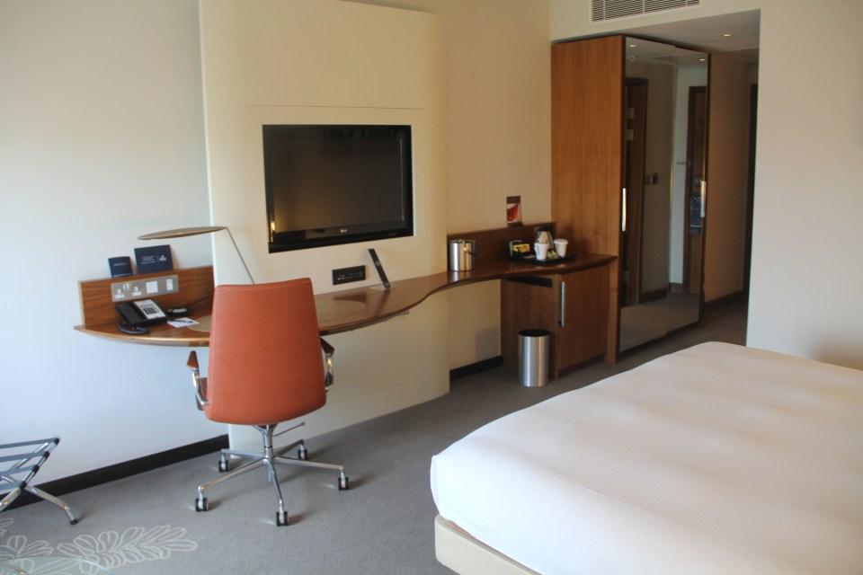 Hilton London Heathrow Terminal 5 Executive Room