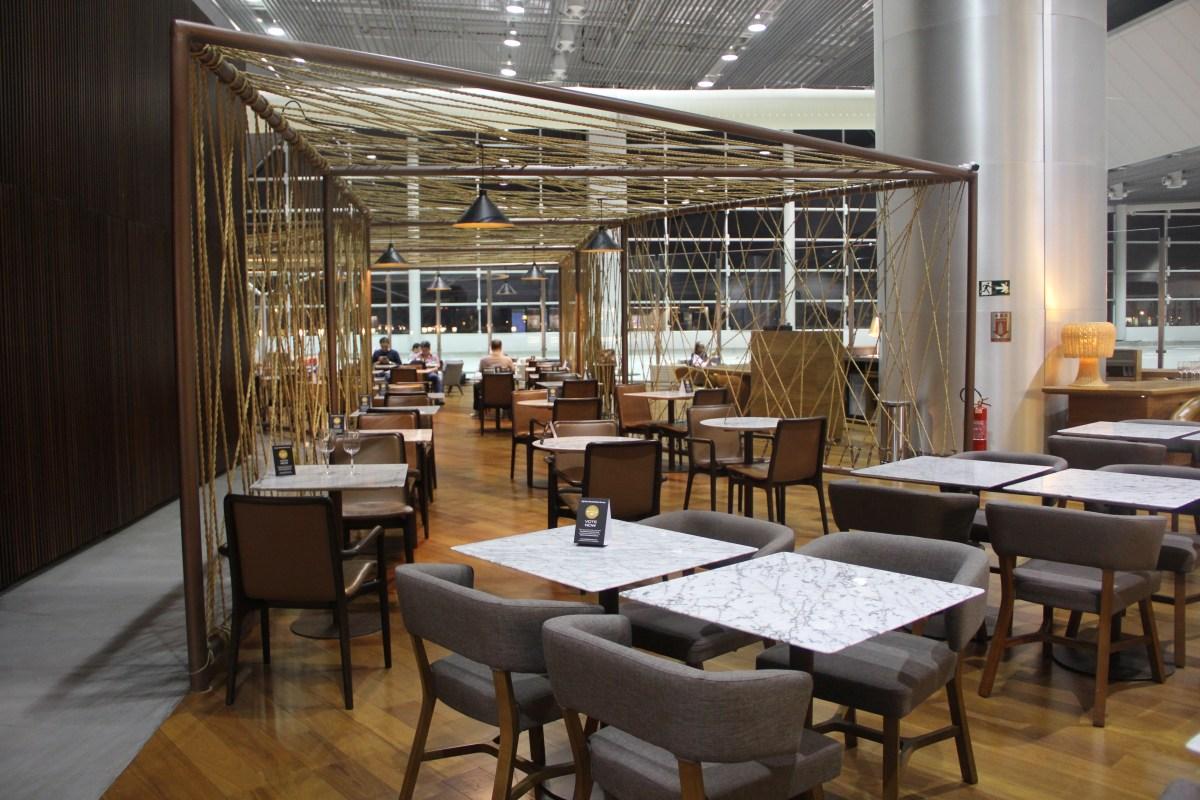 Star Alliance Lounge Sao Paulo Seating