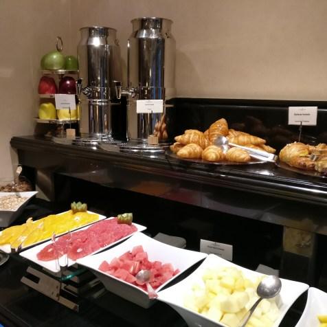 InterContinental Madrid Club Breakfast