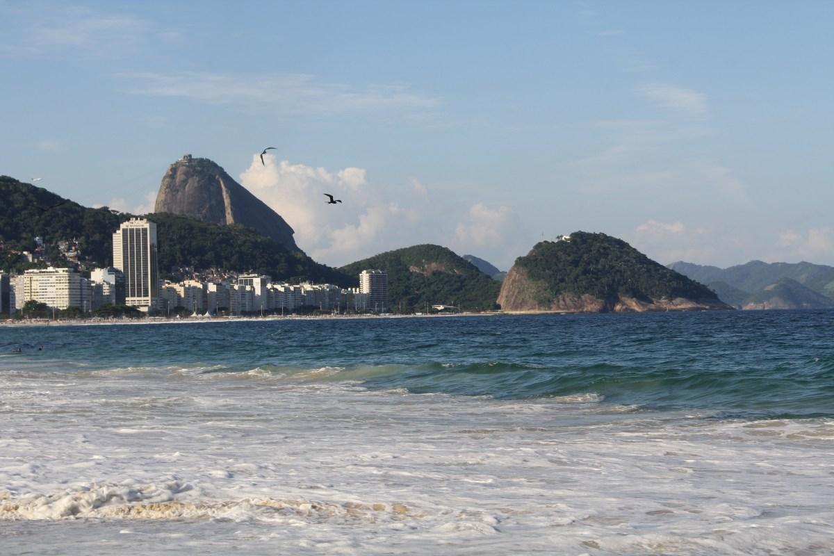 Rio de Janeiro Copacabana Beach