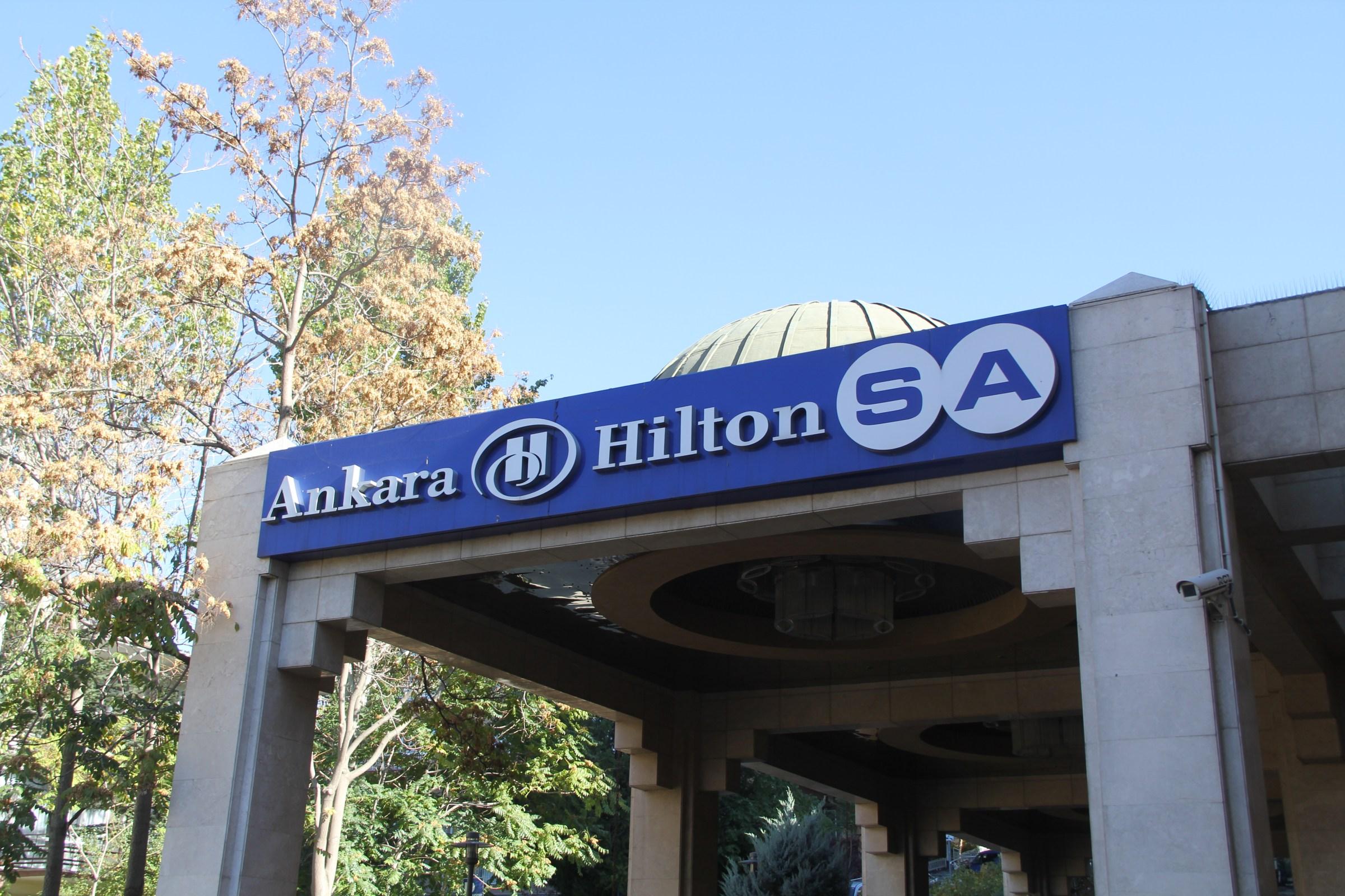 Hilton Ankara Entrance