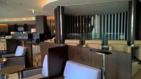 JAL First Class Lounge Tokyo Narita Satellite Seating