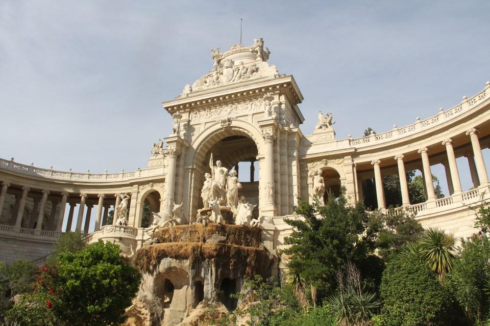 Marseille Palais de Longchamp