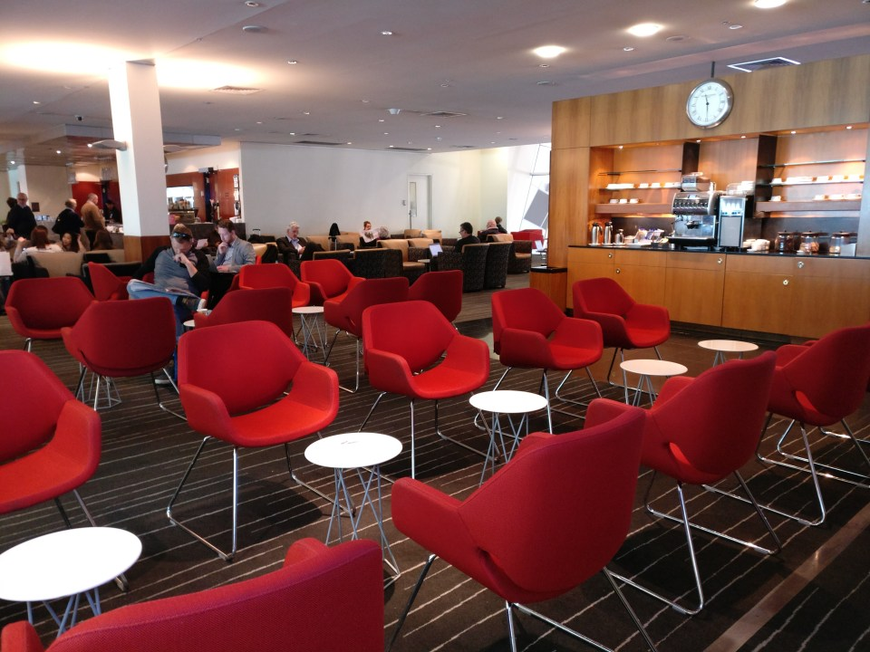 Qantas Club Melbourne Seating